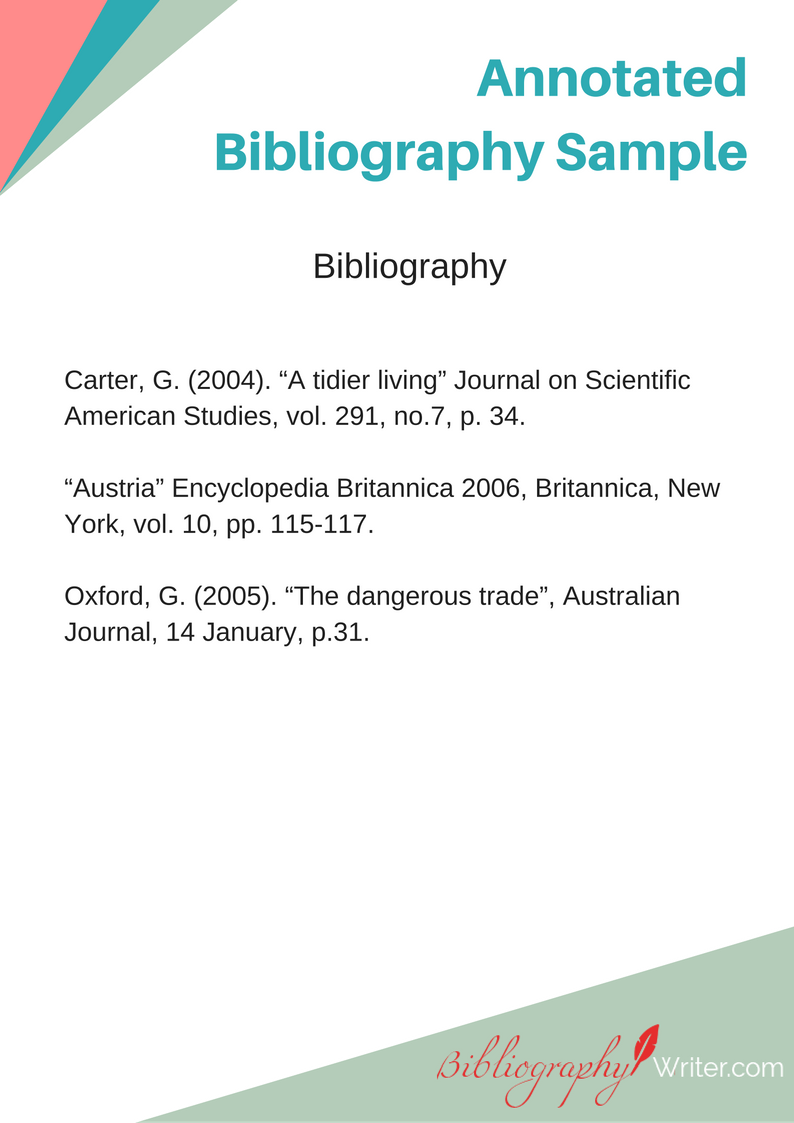 """Check out this @Behance project: """"Annotated Bibliography Sample"""