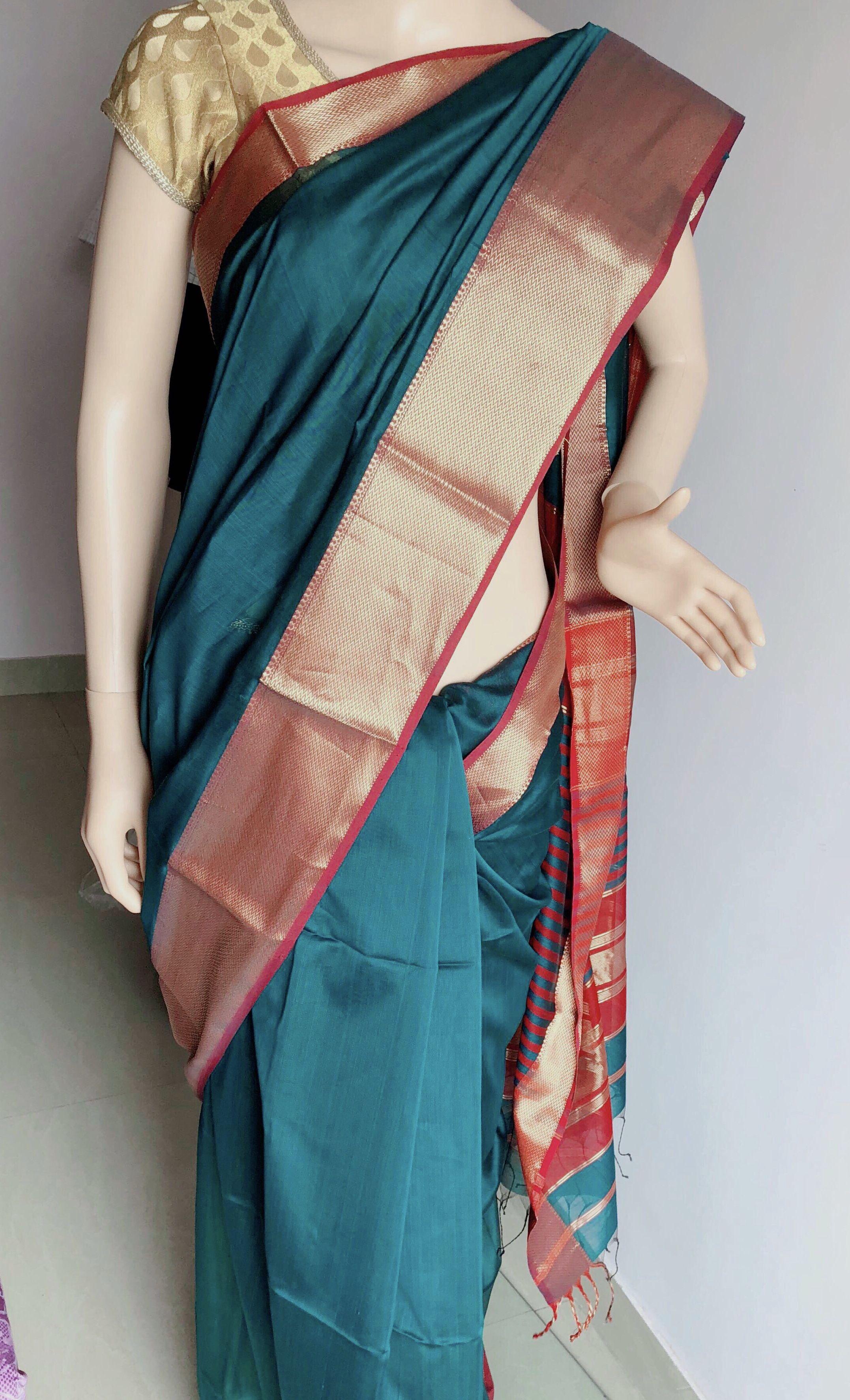 Yeola paithani saree images pin by preksha pujara on silk sarees  pinterest  saree green