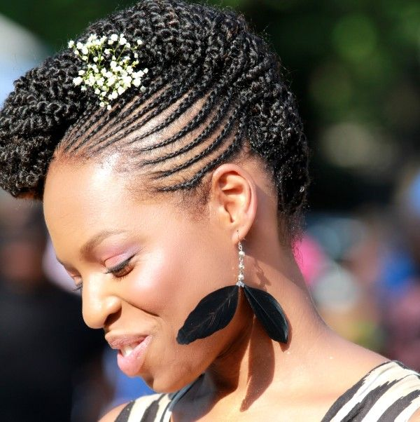 Flat twist or braided updo ideer til hr pinterest updo flat twist or braided updo natural updonatural black hairstylesupdo pmusecretfo Choice Image