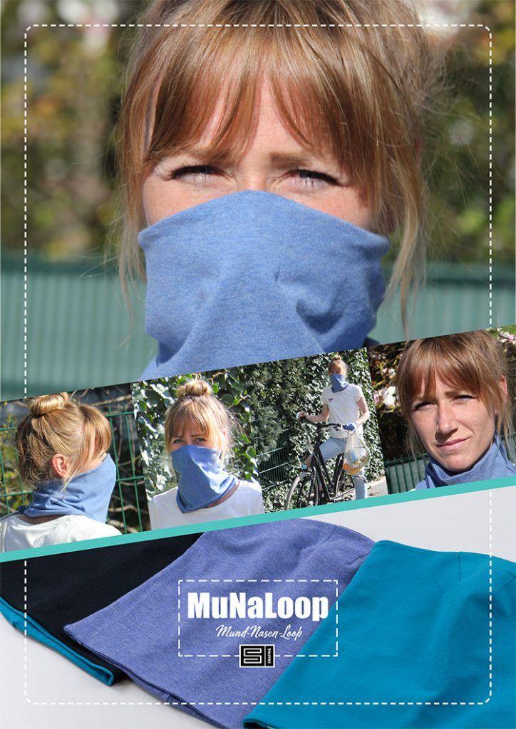 Photo of Kostenloses Schnittmuster: MuNaLoop – Der Mund-Nasen-Loop! – Swafing