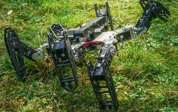 """VIDEO: Novel algorithm enables robots to """"adapt like animals"""" upon sustaining injuries"""