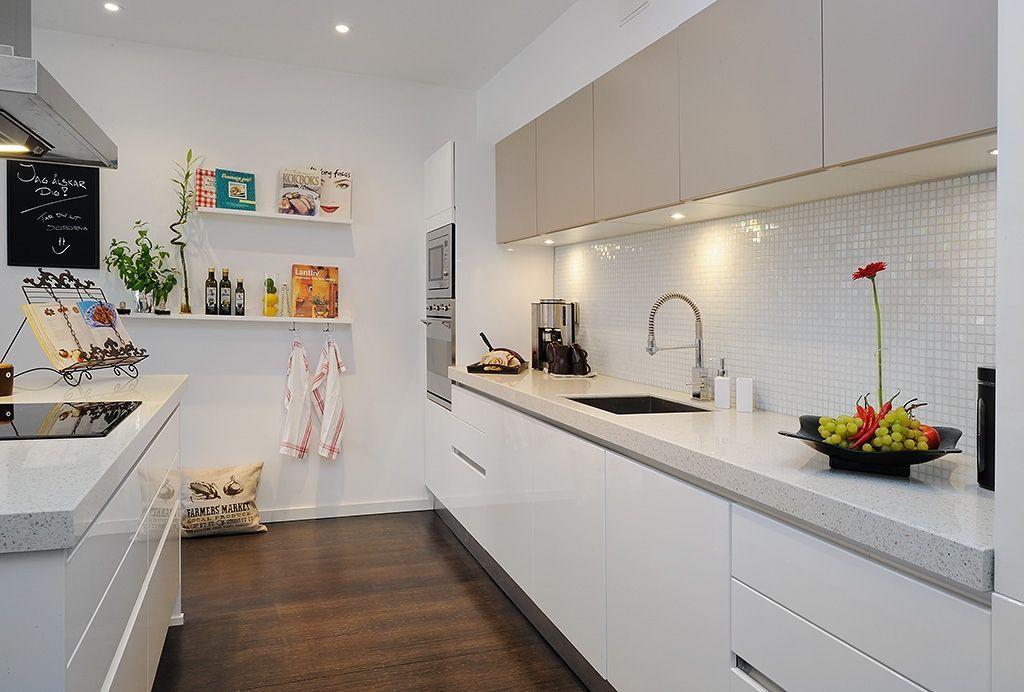Diseño de Cocinas Blancas de Alvhem | Cocinas | Cocinas, Cocinas ...