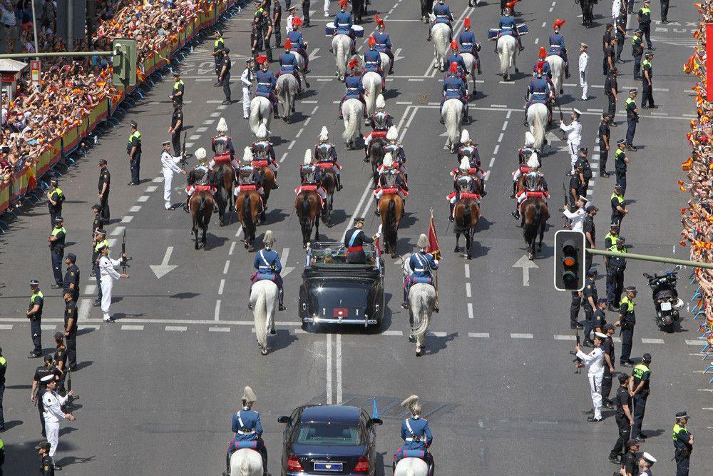 Las 17 mejores fotos de la proclamación de Felipe VI y de la nueva ...