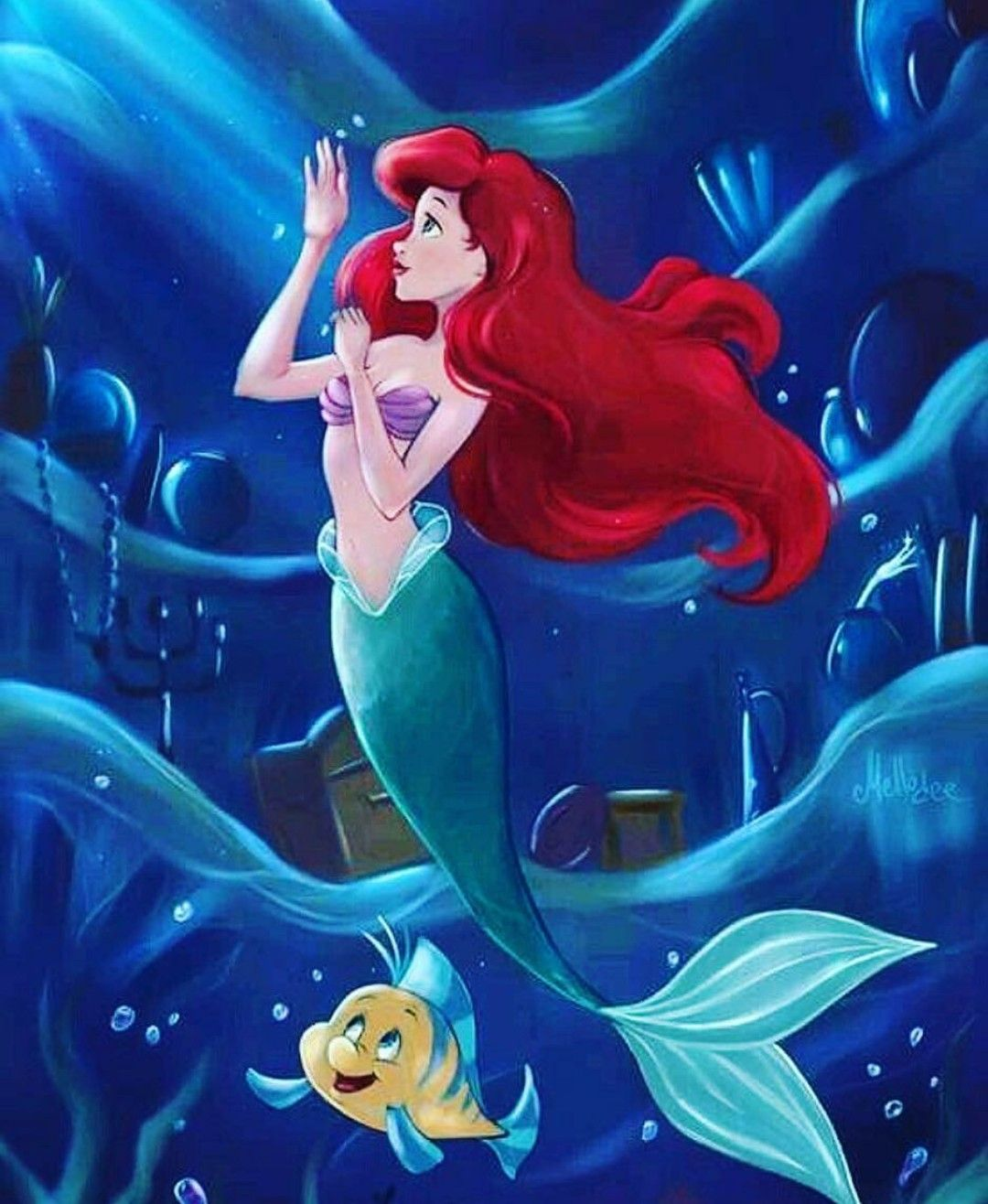 pin de giselly mass en little mermaid pinterest sirena ariel y ariel la sirenita. Black Bedroom Furniture Sets. Home Design Ideas