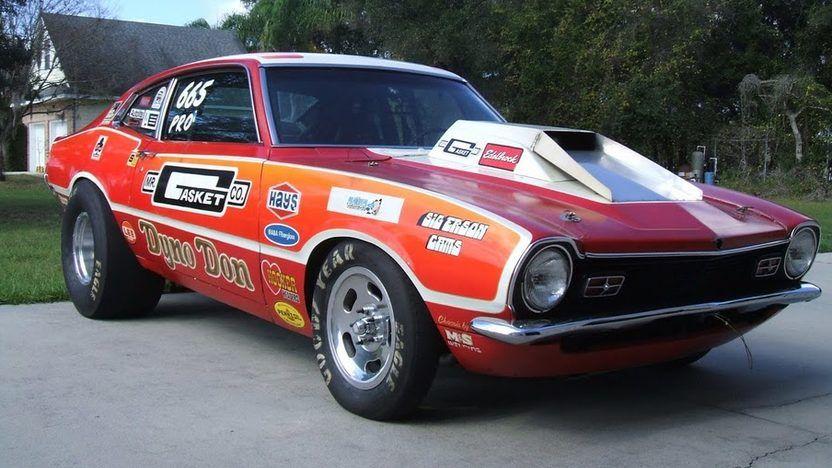 1970 Ford Maverick 427 Dual Quad TunnelRam SOHC V8/Super
