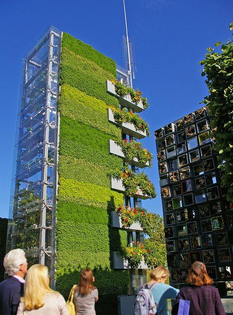 B q garden 3 architecture id es jardins verticaux jardins et jardins suspendus - Immeuble vegetal ...