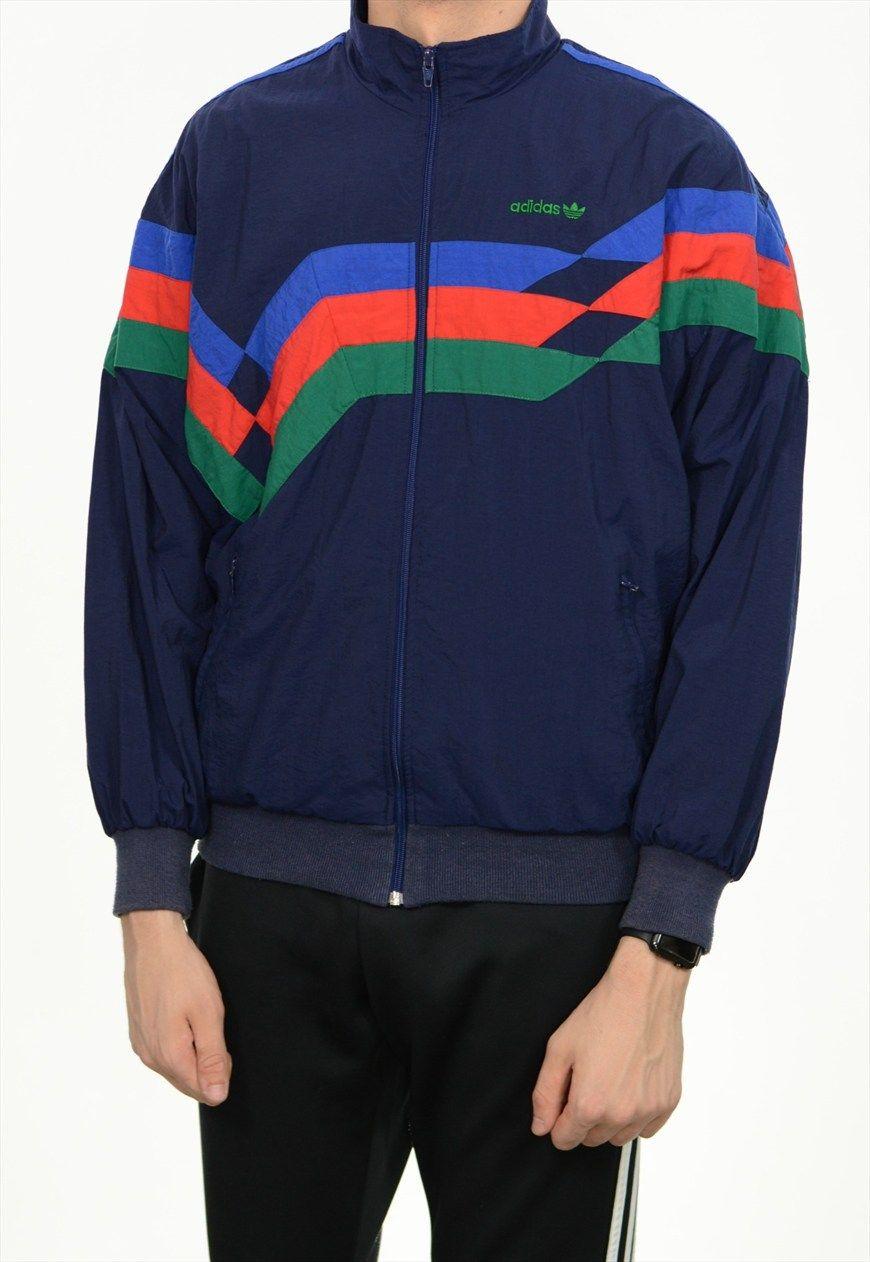 3cdabffd6ac0f Vintage Adidas Shell Jacket /BVSJ359 | Bloc Vintage | ASOS ...