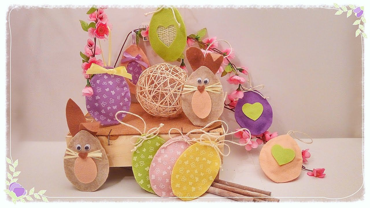 Idee Cucito Per Pasqua : Ovetti di pasqua in feltro senza cucire imparal
