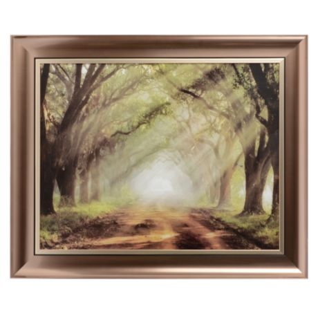 Evergreen Plantation Small Framed Art Print | Evergreen, Small ...