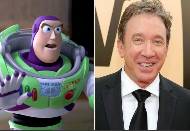 Image result for tim allen as buzz lightyear