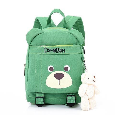 7eebc192b8 2018 Hot Sale Fashion Children School Bags Cartoon Bear Backpack Baby Toddler  kids Book Bag Kindergarten Boy Girl Backpacking