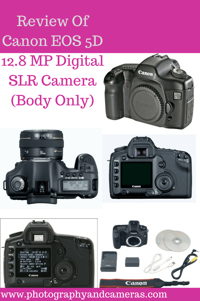 Canon EOS 5D 12.8 MP Digital SLR Camera is one the smallest ...