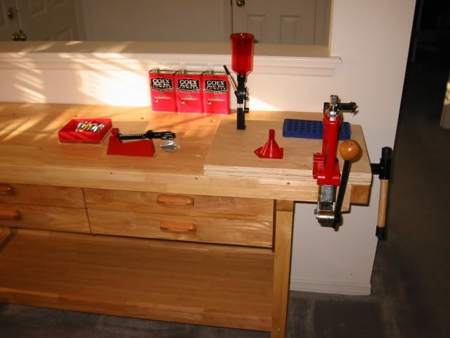 The Perfect Cost Effective Reloading Bench Reloading Bench