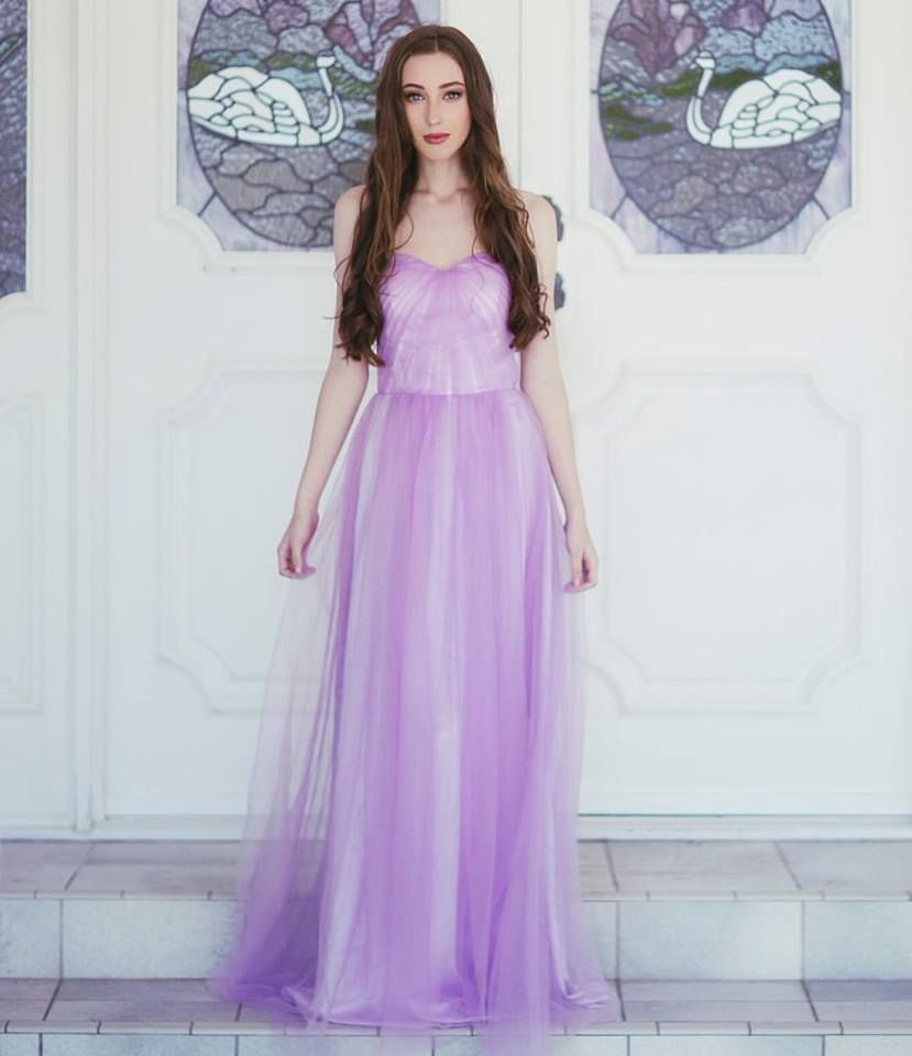 Dreamy soft tulle loving in our Goddess By Nature Ethereal Tulle ...