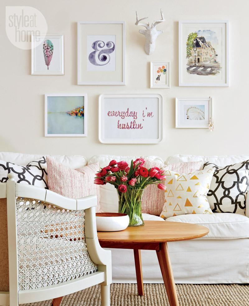 Living Room Table Toronto: Interior: Stylishly Crafted Toronto Apartment