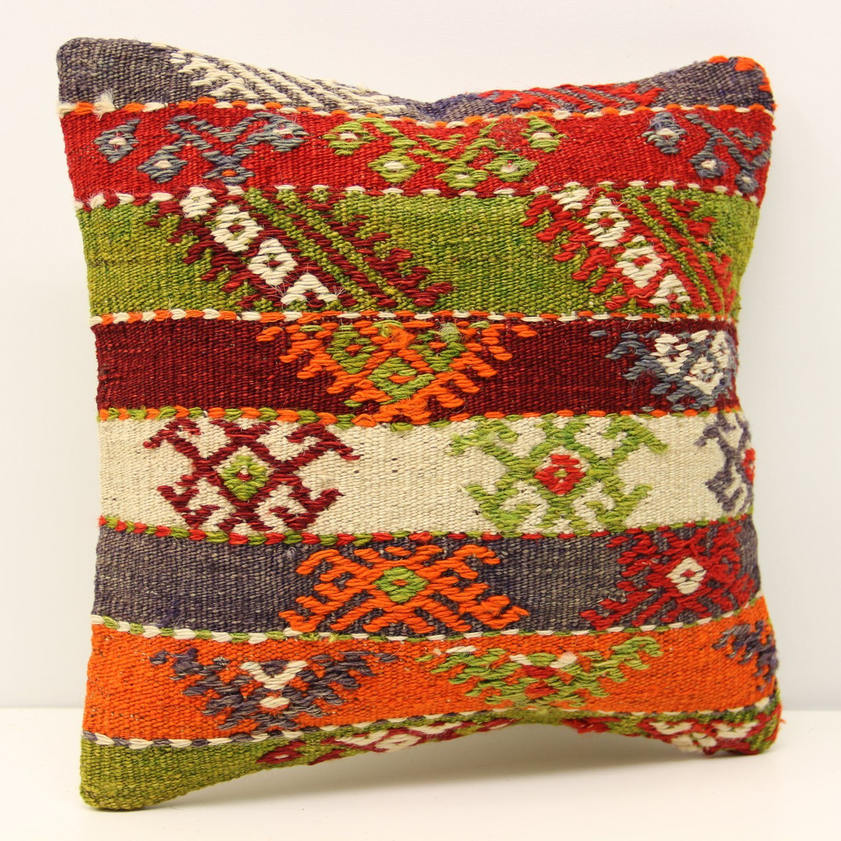 Home decor pillow cover x inch x cm throw kilim pillow