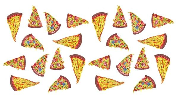 Pizza Pattern Art Print by SWEET2OOF | Society6