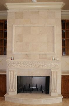 Cantera Fireplaces Traditional Indoor Fireplaces Other Metro