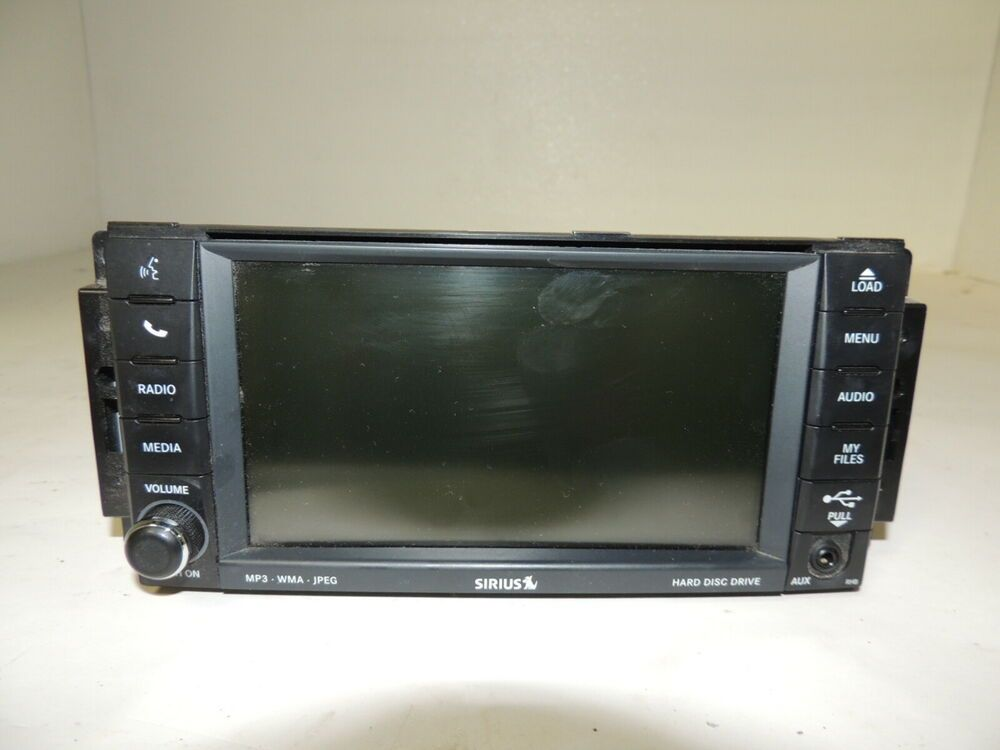 Advertisement Ebay 2011 Chrysler Town And Country Hdd Radio Oem