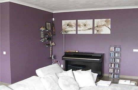 Paarse Decoratie Woonkamer : Woonkamer paarse muur google zoeken woonkamer