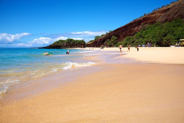 Makena Beach Is Perfect For Maui Activities Like Swimming
