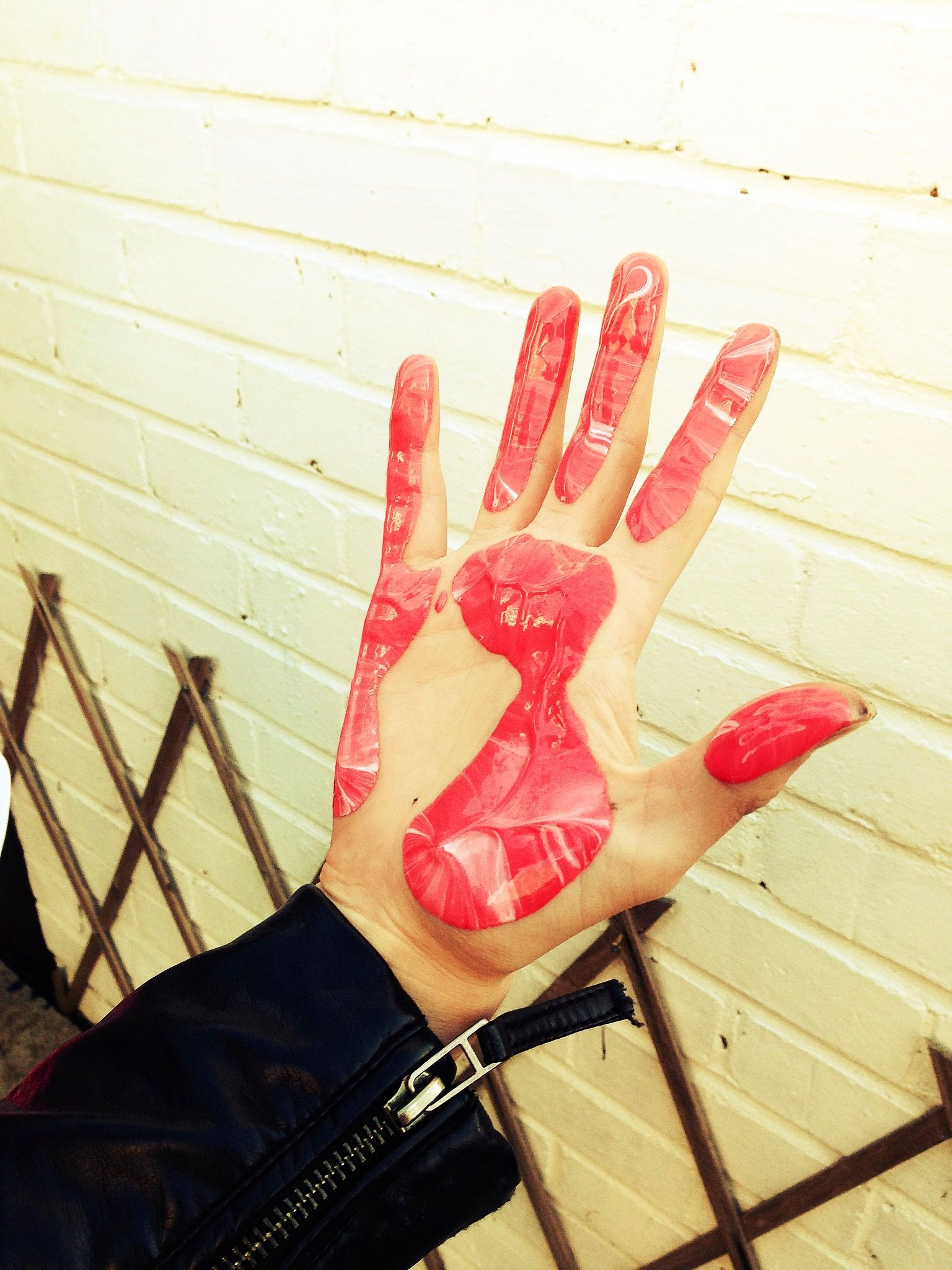 Hand painting, Corby
