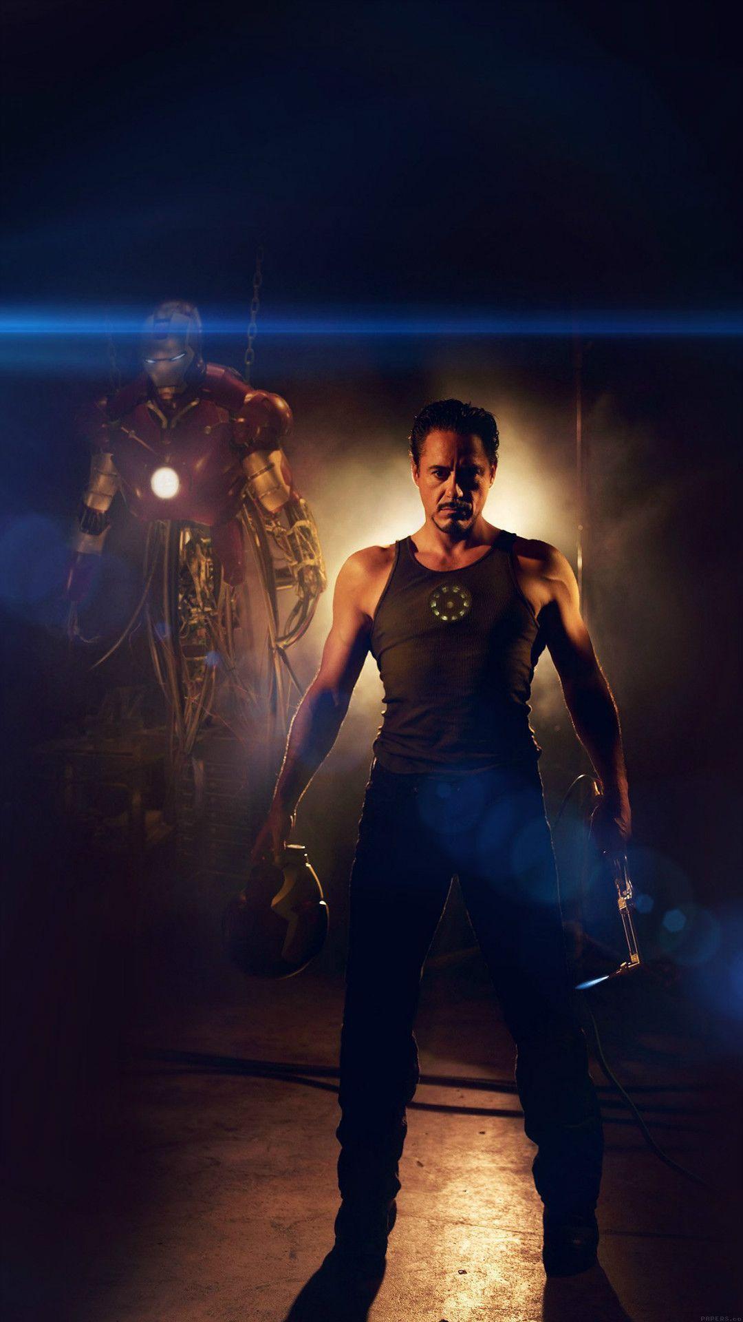 Ironman Avengers Art Robert Downey Film Flare iPhone 6