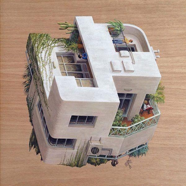 Charmant Surreal Architectural Illustrations By Cinta Vidal Agulló