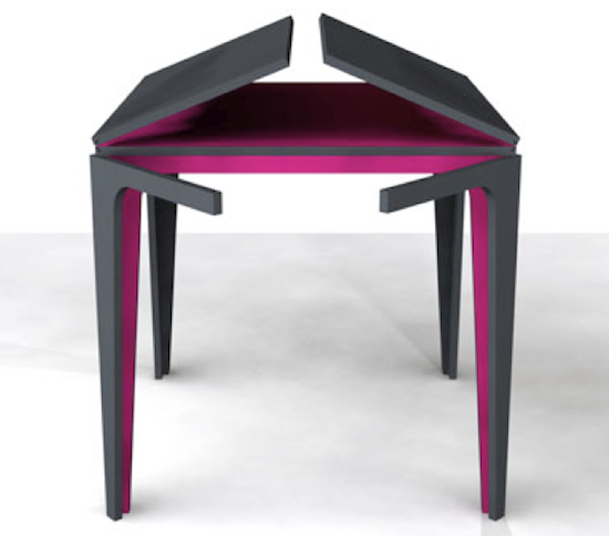 Awesome Extendable #table Concept Design. | #extendingtable #smallspace
