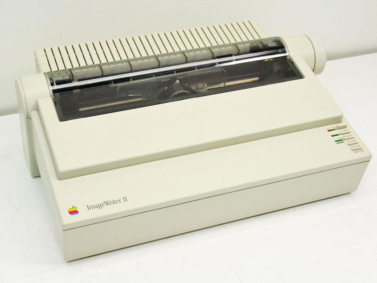 Apple Imagewriter Ii Dot Matrix Ohhhhh Yeah Apple Printer Matrix