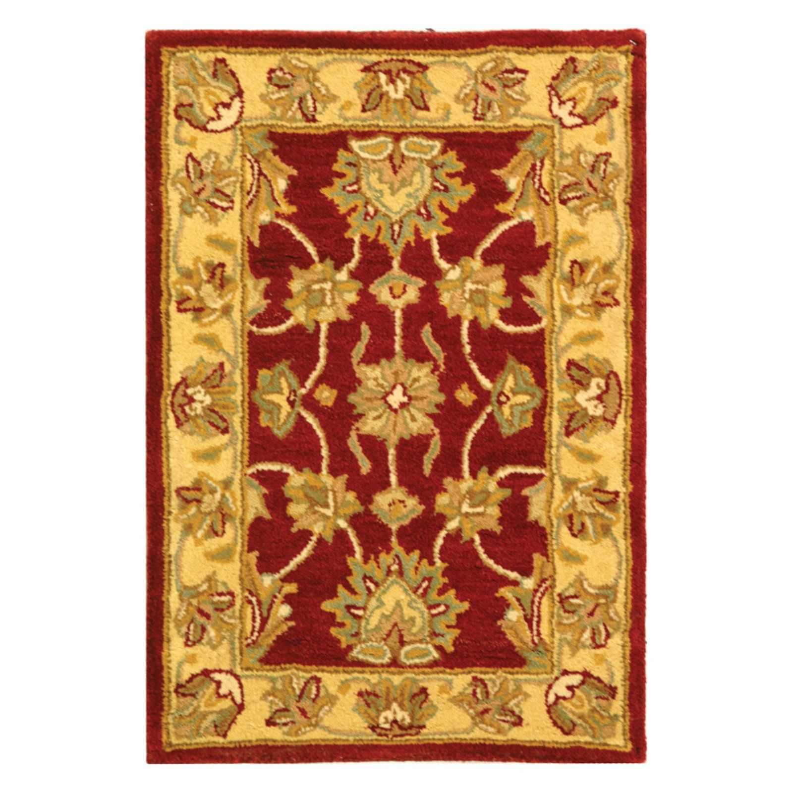 Safavieh Heritage Hg343c Area Rug Red Gold With Images