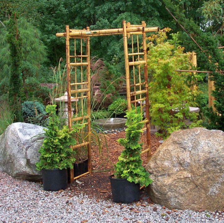 18 equable oriental garden designs landscaping ideas - Garden Design Using Bamboo