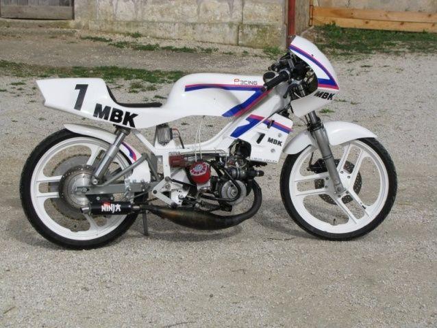 Cafe Racer Mbk  Bidalot