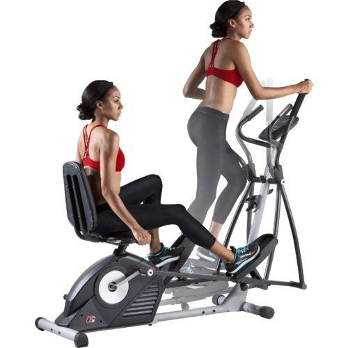 Proform Hybrid Trainer Elliptical Bike Biking Workout Low Impact Cardio Workout Exercise Bikes