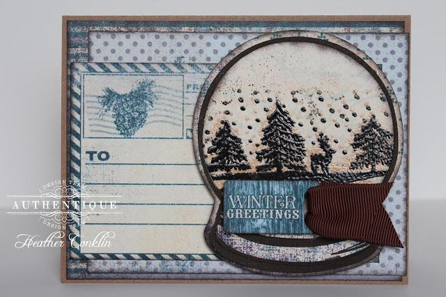 Seasons: Winter Collection by Heather Conklin using @Silhouette America