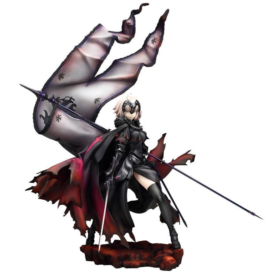 Fate Grand Order Ruler Jeanne D/'Arc Alter Joan of Arc Black PVC Figure Action