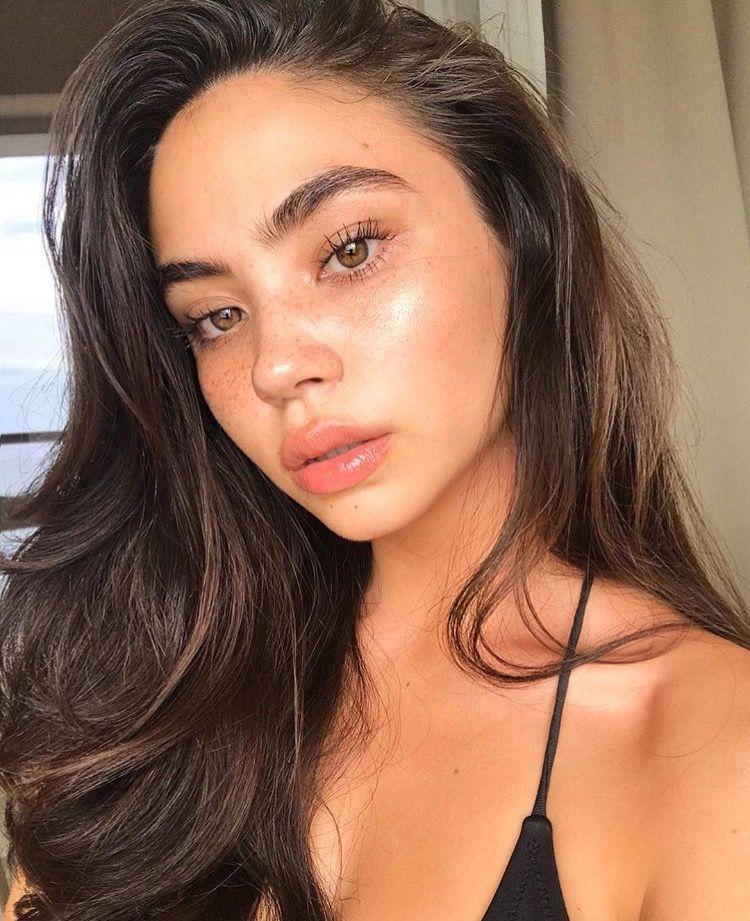 kaiafalcon | Tumblr girls | Pinterest | Makeup, Face and Eyebrow