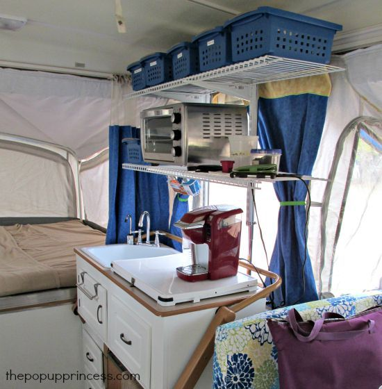 Anne S Pop Up Camper Makeover Camper Makeover Princess
