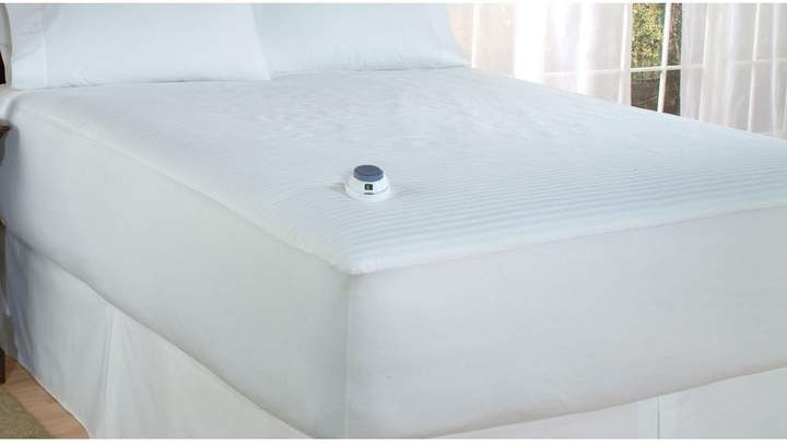 Richter Perfect Fit Industries Heat Polyester Heated Mattress Pad Heated Mattress Pad Mattress Pad Electric Mattress Pad