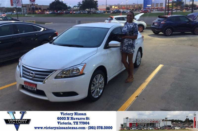 Victory Nissan Victoria Tx >> Congratulations Brittney On Your Nissan Sentra From