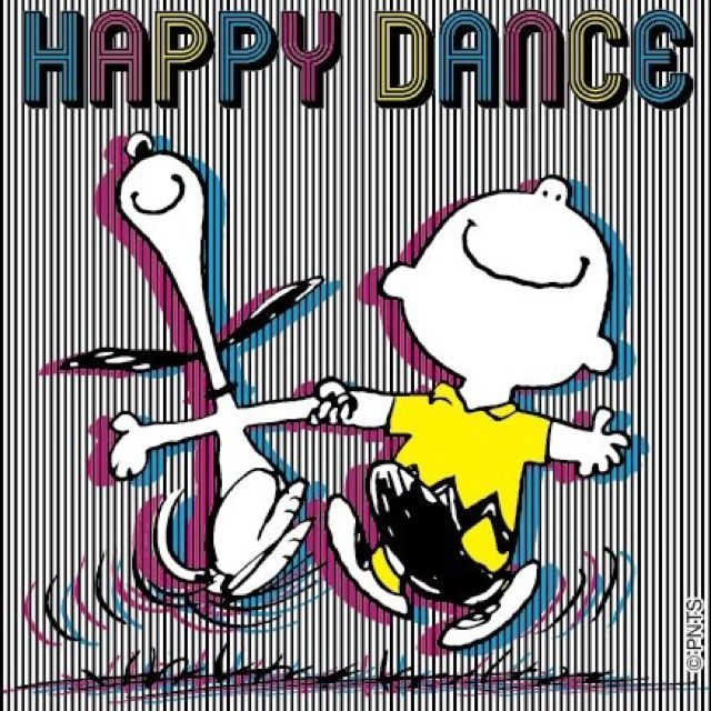 Image result for peanuts characters happy dance