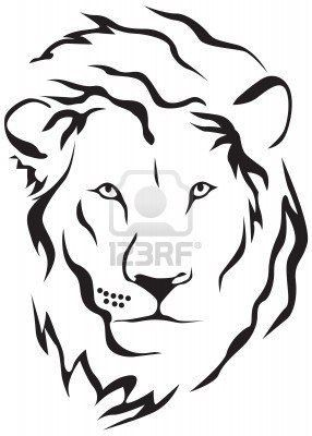 d224c0315 dessin Tribal Lion Tattoo, Lion Tribal, Tribal Art Tattoos, Lion Head  Tattoos,