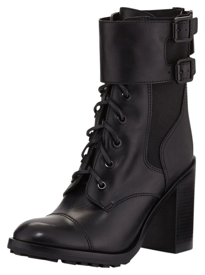 Broome Leather Combat Boot by Tory Burch at Neiman Marcus.