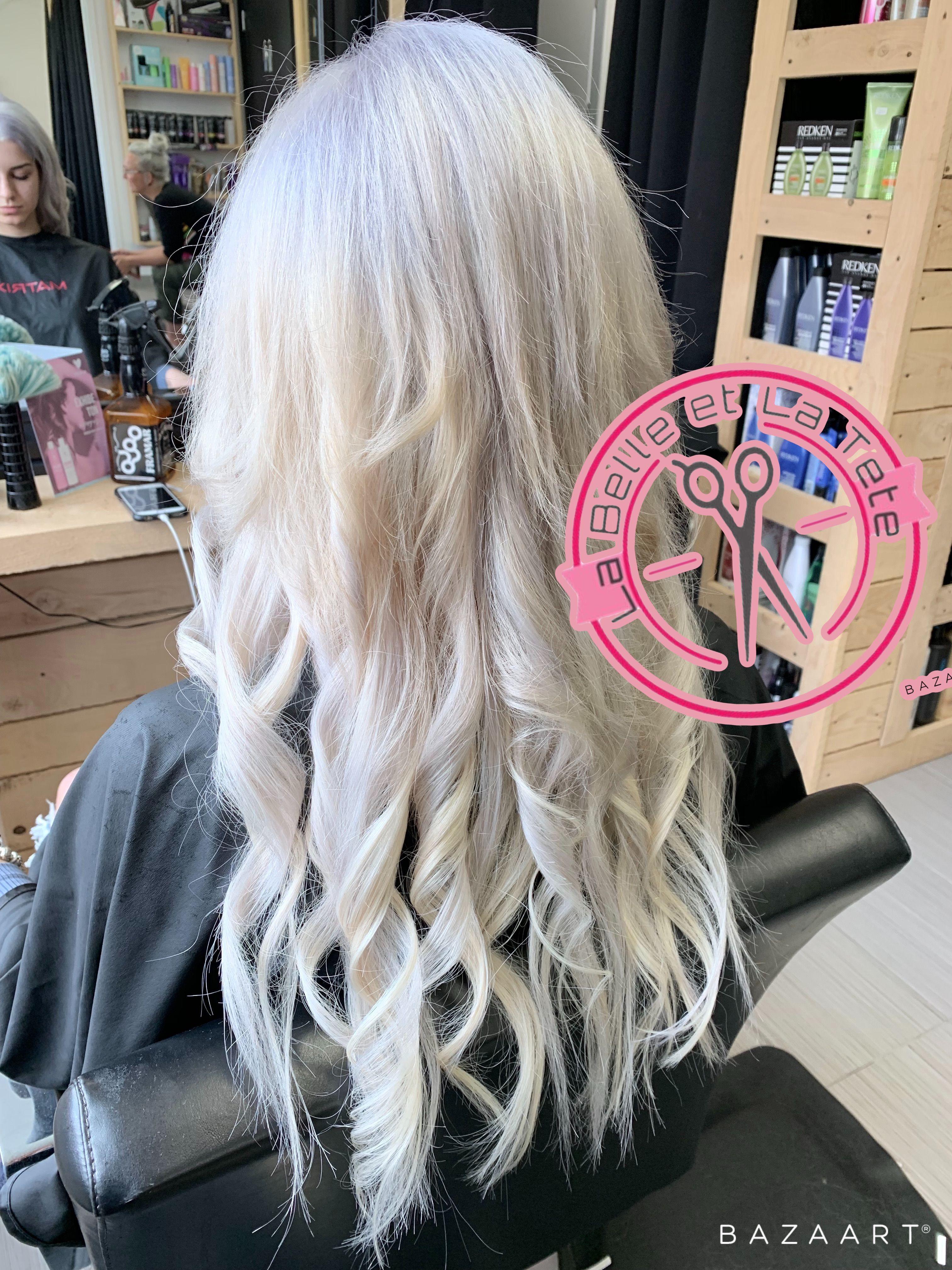 Rallonges Blond Polaire Hair Styles Redken Hair