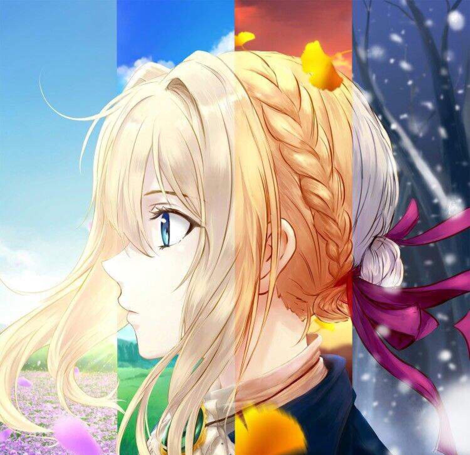 Pin by Nicole on uwu Violet evergarden anime, Violet