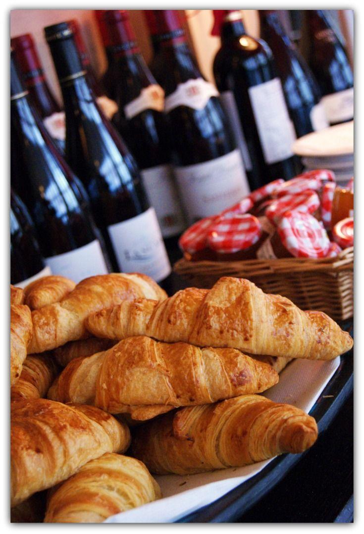 Wine & Croissants from Paris, France
