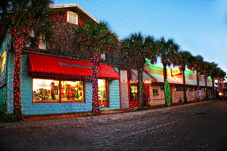 If your in the mood for a fun shopping visit in a tropical
