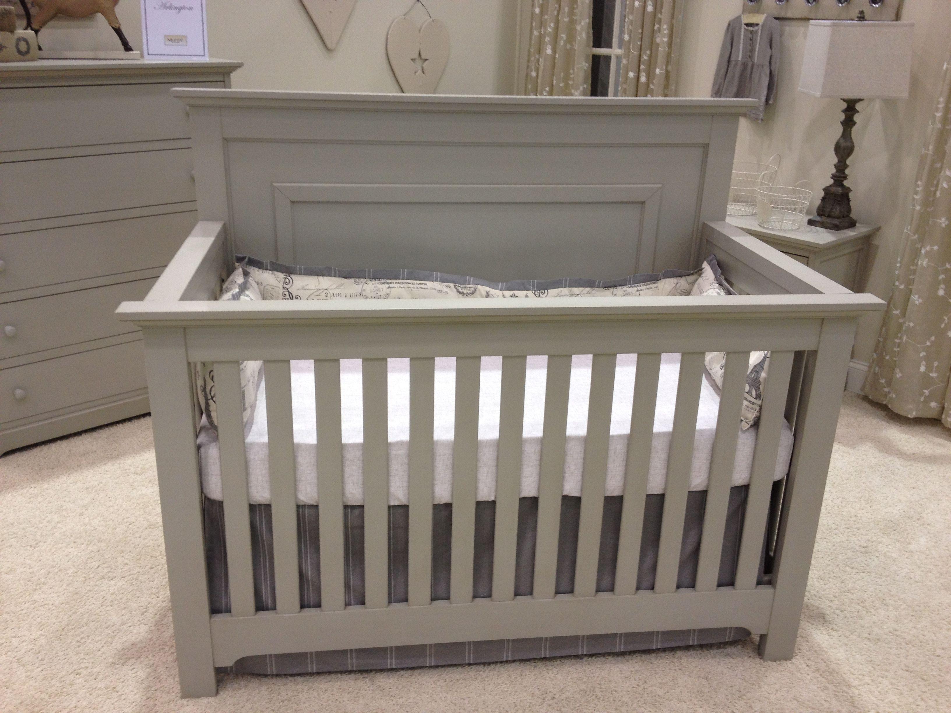 chesapeake collection from munire furniture in grey crib nursery baby munire debnheir. Black Bedroom Furniture Sets. Home Design Ideas