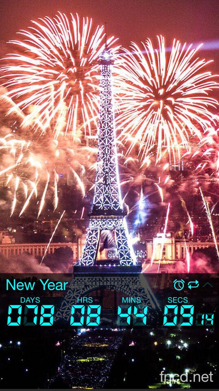 Download Final Countdown Fireworks, Eiffel tower, Best