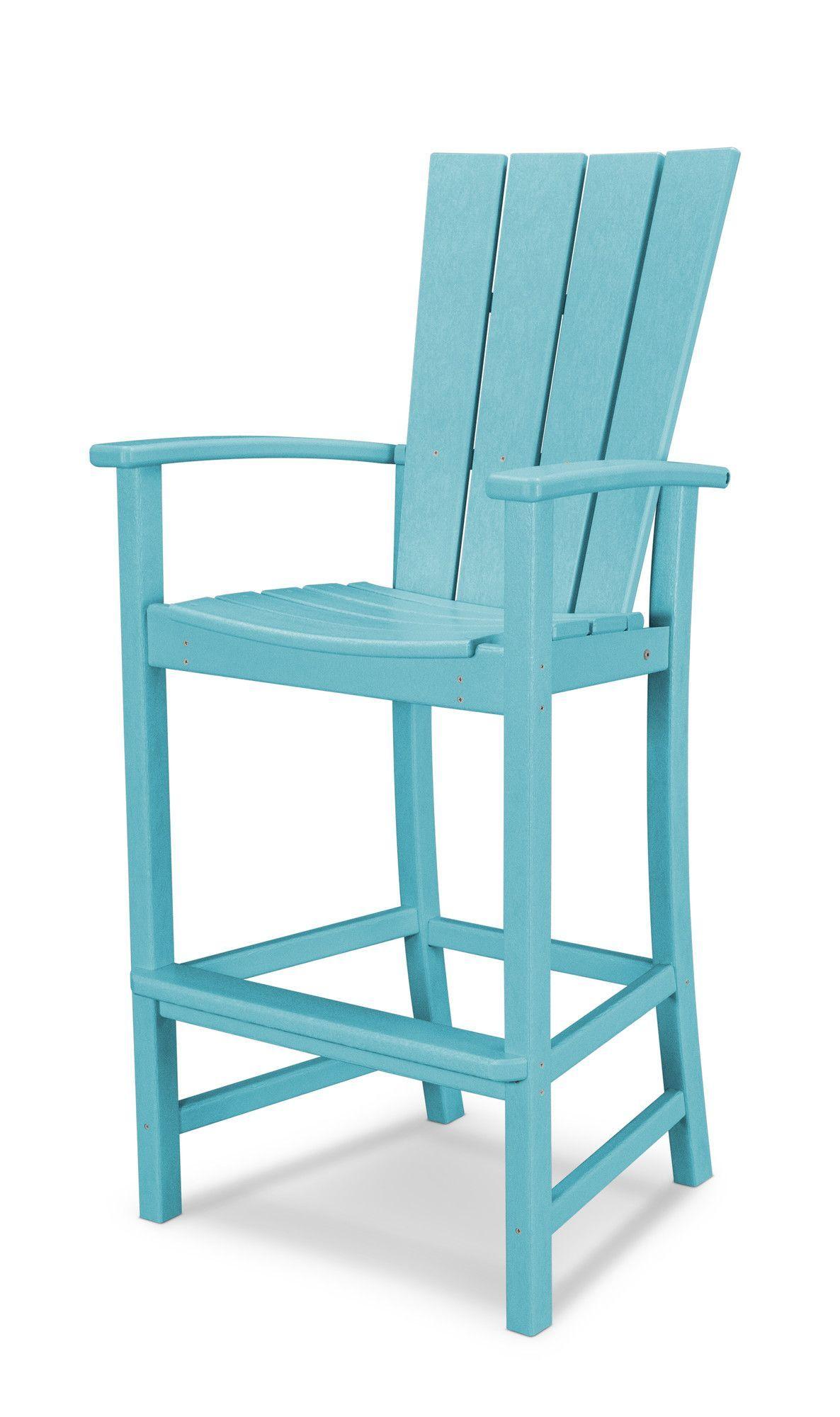 Quattro Plastic Adirondack Chair | Bar chairs, Plastic ...